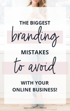 The Top 5 Most Common Branding Mistakes to Avoid. Branding Your Business, Business Marketing, Business Tips, Personal Branding, Business Quotes, Build Your Brand, Creating A Brand, Facebook Business, Online Business