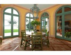 Classic Mediterranean estate with breathtaking views of downtown Miami.