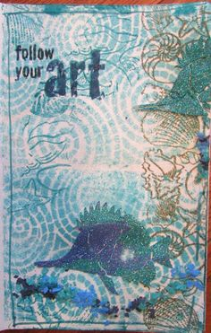 Dreamweaver Stencils and Stampendous still at it | The Scrappy Chick