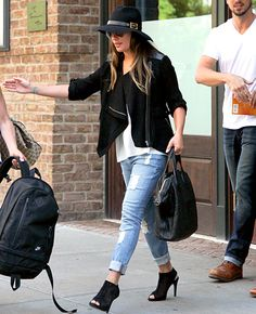 """Lea Michele loves her Pedro Garcia """"Sofia"""" booties. But their near-$500 price tag might not fit everyone's budget. Check out our more affordable picks and get her look!"""