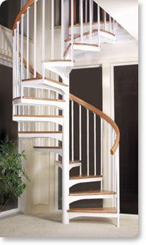 Classic Steel Stairs | Spiral Stairs | Salterspiralstair.com