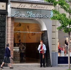 Los Italianos, Granada, Spain. Some of the best ice cream I've ever had, but only open during the summer. It does get chilly in Granada.
