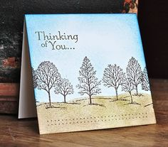 Stampin' Up ideas and supplies from Vicky at Crafting Clare's Paper Moments: Mail-Friendly Monday - using Lovely as a Tree