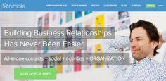 Nimble Social CRM Brings Big Data to Small Business -