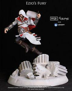 """Assassin's Creed """"Ezio's Fury"""" statue figurine - Limited Edition # 0813/2000"""