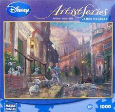 "Amazon.com : Disney Artist Series James Coleman ""We'll Keep'em"" 1000 Piece PUZZLE : Jigsaw Puzzles : Toys & Games"