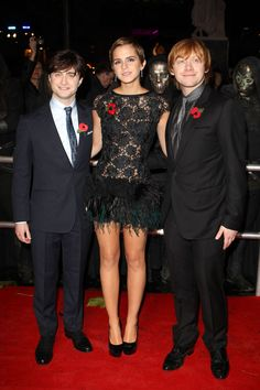 At the 2011 world premiere of <em>Harry Potter and The Deathly Hallows: Part I</em>in London. -Cosmopolitan.com