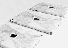 In Love: Marmorierte Hüllen für Apple Produkte. Hier entdecken und shoppen: http://sturbock.me/z5o