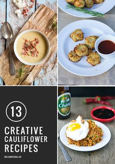 13 Creative Cauliflower Recipes