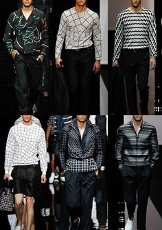 Milan Menswear Print Highlights – Spring/Summer 2015 catwalks - They're all stunning of course.  I would definitely have to get used to seeing men in some of these beautiful prints. #Patternbank #DesignsbyCatbaluueandBigJ