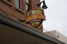 Haven Gastropub in Orange, CA; try the brussel sprouts, salt and vinegar chips, and the pig ears(: