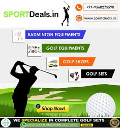 in is a large Golf Store in India. We have a large collection of golf equipment's like and also at best & reasonable price in India. Golf Shop, Golf Stores, Yonex Badminton Racket, Golf Card Game, Dubai Golf, Callaway Golf, Golf Irons, Golf Fashion