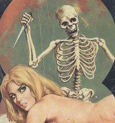 Stab the bitch. Arte Horror, Horror Art, Dark Beauty, Scary Art, Creepy, Illustrations, Illustration Art, Pop Art Vintage, Horror Comics