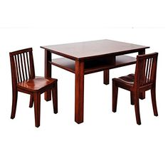 Table and Chair Set  Espresso ** For more information, visit image link.