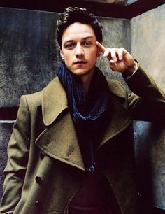 james mcavoy Lawd knows what he's thinking !