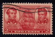 US #791 Stephen Decatur and Thomas MacDonough, used (0.25)