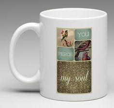 Jane Austen, You pierce my soul - Captain Wentworth - Persuasion quote - Persuasione -  mug - Digital Download - Italy - Sardinia