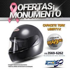 FIRE Mídia - Google+  https://www.facebook.com/monumentoshoppingcar/photos/a.850228231704681.1073741826.238299146230929/1184367461624088/?type=3&theater  Capacete é a proteção do motociclista! Venha pro Monumento Shopping Car ! #motopecas #saovicente #protork #capacetes #ofertas #autopecas #motopecas #monumento #monumentoshoppingcar #saovicente #promocao