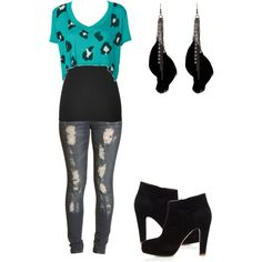"""""""out with my guy best friend"""" by karlibugg on Polyvore"""