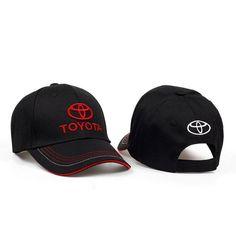 2ab773a131da4 4 seasons F1 car fan logo moto gp high-grade fabric TOYOTA car logo  baseball hat racing cap cotton embroidery sunhat snapback
