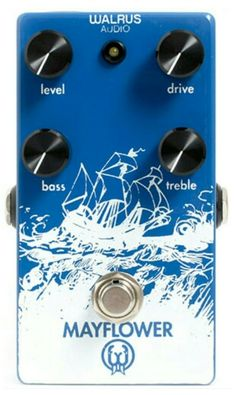 Walrus Audio Mayflower Overdrive pedal. Incredible sounding overdrive!