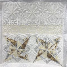 Stitch Delight: SDS1229 Patchwork ITH 6, All Design Sets, SDS1229 Stitch Delight, Set Design, Hoop, Stencils, Applique, Feather, Embroidery, Quilts, Blanket