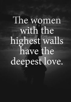 I know....and she ist soooo afraid...I would do everything....but she dont trust me...all I can do is let to find her her own way...nothing I can do....but I Love her so much so I let her Go and find her way.....