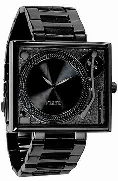 Flud Watch Karmaloop Exclusive Watch in Gunmetal Black - Karmaloop.com DJ Play my mix!!