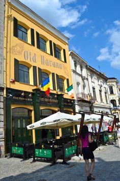 Old Town Bucharest Romania