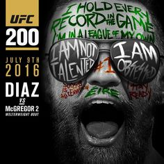 Conor McGregor #UFC200 promo : if you love #MMA, you'll love the #UFC & #MixedMartialArts inspired fashion at CageCult: http://cagecult.com/mma