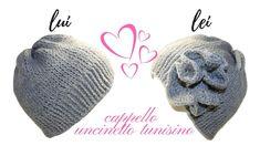 TUTORIAL: cappello unisex a punto tunisino/ tunisian crochet***lafatatuttofare Tunisian Crochet Stitches, Crochet Stitches Patterns, Crochet Designs, Stitch Patterns, Crochet Afghans, Easy Crochet Projects, Crochet Crafts, Crochet Ideas, Love Crochet