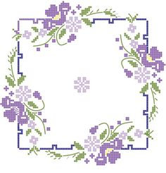 Quilt Blocks Stamped Iris On Square Border. Fairway Quilt Blocks measure 18inx18in, and are constructed of 50/50 polycotton crease resistant broadcloth material. Six blocks of the same pattern are in