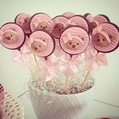 Pirulitos de ursinha!  #chádebb #Karin #@lindalvamarao