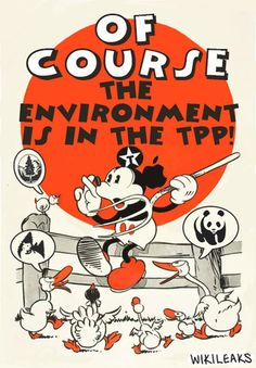 Secret Trans-Pacific Partnership Agreement (TPP) - Environment Consolidated Text