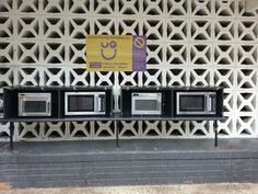 Microwave ovens at main refractory provided by Uq union