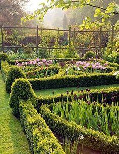 Cernay House Garden, Gloucestershire.