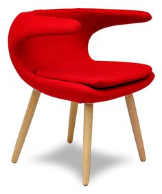 Look at this Red Arc Leisure Chair on #zulily today!
