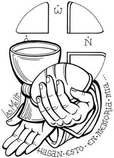 El Rincón De Las Melli: ÍCONO: Jesús Y La Eucaristía
