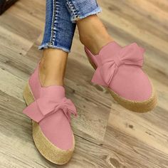 Plain Round Toe Casual Date Flat & Loafers Skinny Jeans Damen, Loafer Flats, Espadrilles, Loafers Online, Walk In My Shoes, Casual Date, Sandals Outfit, Halloween Accessories, Loafers For Women