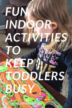 Need idea to occupy your busy toddler in the winter, a rainy day, or whenever you're cooped up inside? Check out these fun indoor activities to keep toddlers busy! Family Activities, Toddler Activities, Outdoor Summer Activities, Terrible Twos, Toddler Books, Parenting Toddlers, Toddler Crafts, Mom Blogs, New Baby Products