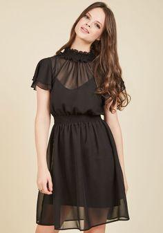 Bespeak Mystique A-Line Dress   Mod Retro Vintage Dresses   ModCloth.com