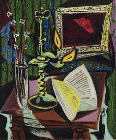 Pablo Picasso (1881-1973) Nature morte au chandelier