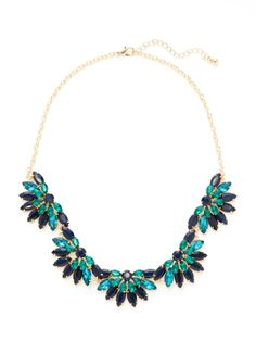 Half Flower Collar Necklace by Sparkling Sage at Gilt