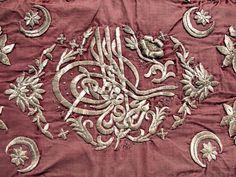 Ottoman Empire Embroidery Gold Bullion Sultans Tughra