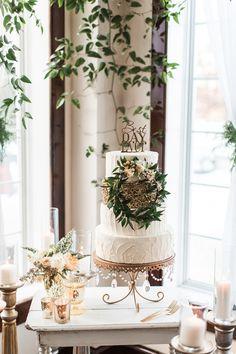 Ruffled - photo by Samantha Jay Photography http://ruffledblog.com/enchanted-garden-wedding-ideas | Ruffled
