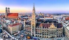 Старинный город Munchen - медицинская столица Германии