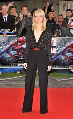 Emma Stone,  The Amazing Spider-Man Gala Premiere London