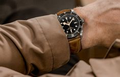 We finally get some hands on time with the now legendary Tudor Black Bay, is this the watch to take down the Submariner? Tudor Heritage Black Bay, Tudor Black Bay, Tudor Submariner, Rolex Submariner, Best Looking Watches, Rolex Tudor, Luxury Watches For Men, Breitling, Rolex Watches