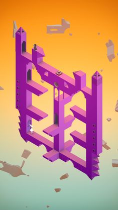 Like the stairs in Hogwarts but I can change them by myself / #MonumentValley iOS #Game by ustwo