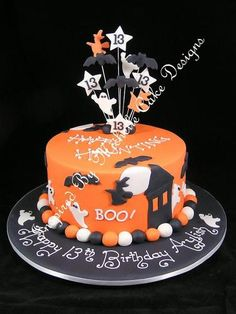 halloween cake ghosts bats witches and haunted house. Inspir 19 Creative Halloween Cakes And Desserts